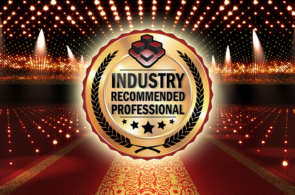The Industry Recommended Professional Awards Night – 19th October 2018