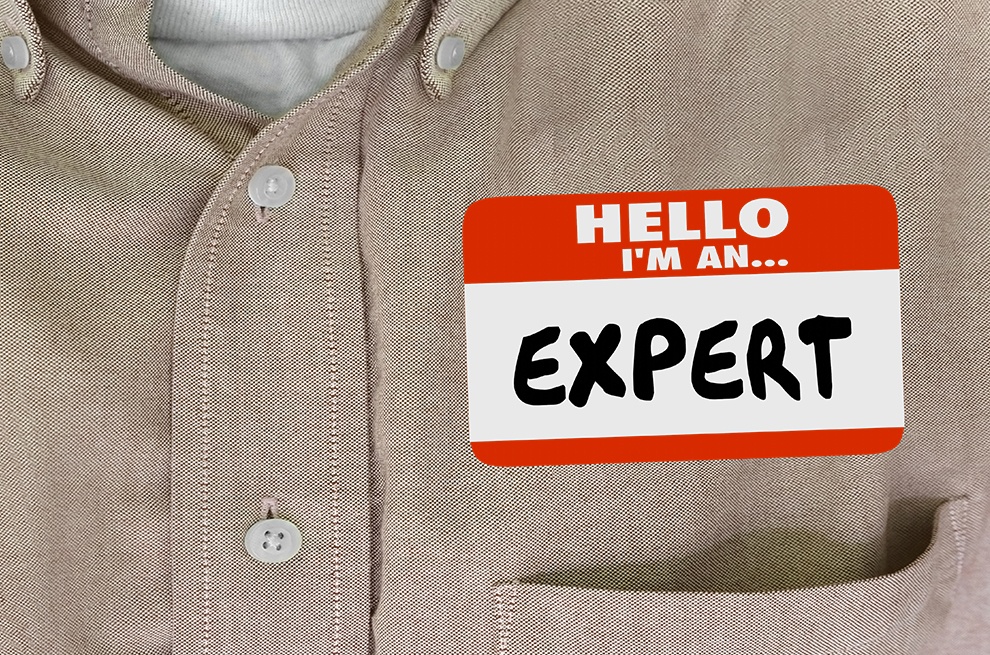 Expert in your field?